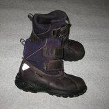 15,5 см стелька, зимние термо ботиночки ecco экко с гортексом