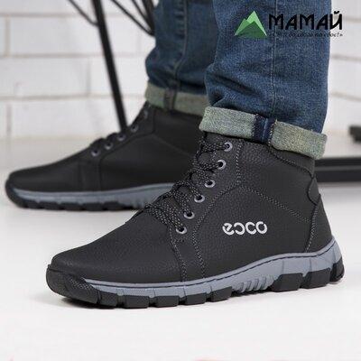 Зимние мужские ботинки Ecco -20 °C Черевики кроссовки сапоги Лб 21