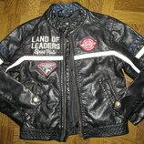 Куртка кожаная для мальчика р-122 Н М