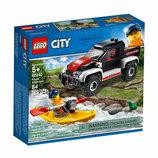 шикарный конструктор Лего City Приключения на байдарках 60240 Lego Дания оригинал