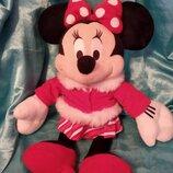 роскошная большая мягкая игрушка Минни Маус Minnie Mouse Disney Англия оригинал 47 см