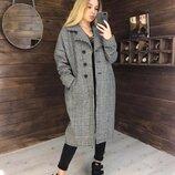 Стильное пальто Реплика Zara,размер 42-46