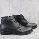 Ботинки мужские кожа зима
