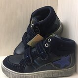 Детская обувь. Ботинки для мальчика синие р. 25-30