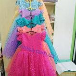 нарядные детские платья -в ассортименте ,перчатки в подарок
