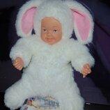 Редкий белоснежный кролик Анне Геддес Anne Geddes