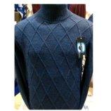 Теплый мужской свитер - гольф, турция 1043.2об