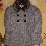 Пальто для девочки, куртка 18-24 мес.