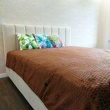 Мягкие пледы на кровать размер 200-230 см