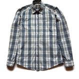 Рубашка H&M в клетку с длинным рукавом, размер S