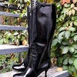 Сапоги Bottega Veneta Боттега Венета , оригинал, цвет - черный.