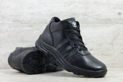 Мужские кожаные зимние ботинки цена 1050 грн. Код Adidas 5бот Сезон зима Тип ботинки Пол мужс
