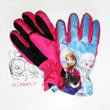 Перчатки для девочек не промокаемые Disney Frozen