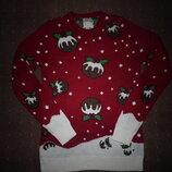 Новогодний свитер Cedarwood размер XS