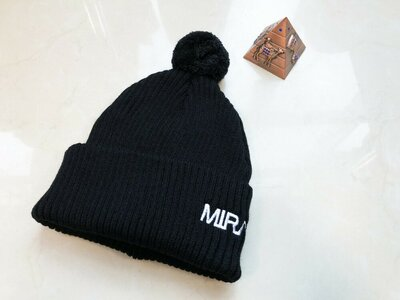 Шапка Miracle knitwear black
