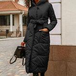 Зимнее пальто на синтепоне S-XL.