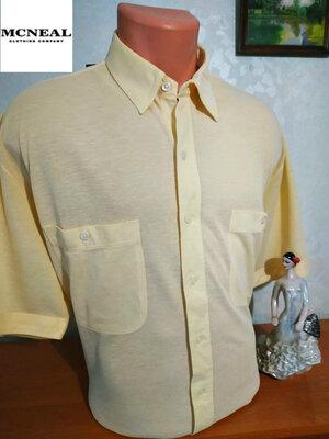 Трикотажная рубашка-шведка с коротким рукавом Mcneal, р.XL