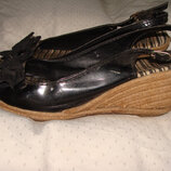 босоножки Marks & Spencer 39р 25 см не кожа туфли оригинал