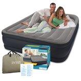 Надувная кровать Intex 64136 со встроеным насосом