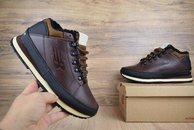 Зимние мужские ботинки New Balance 754 brown