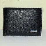 Мужской кошелёк с зажимом Prensiti 071B из натуральной кожи