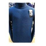 Теплый мужской шерстяной свитер - гольф, турция 1023.1об