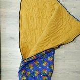 Фирменный детский спальник. Спальный мешок. Pluto