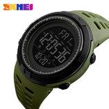 Новинка Спортивные военные водостойкие мужские часы Skmei 1251 Green