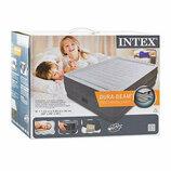 Велюр кровать Intex 64418 с встроенным насосом