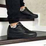 Кроссовки мужские Nike Air Force черные 8504
