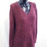 Удлиненный свитер травка