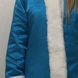Новогодний костюм снегурочки S-M