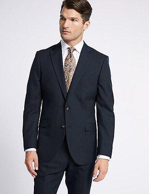 Классический пиджак от британской марки одежды Marks & Spencer,luxury, regular fit, оригинал, р.М, н