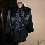 Блуза женская нарядная,размер евро 42 46-48 размер от Hashun