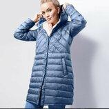 Мягусенькое стеганное пальто от Tchibo Германия