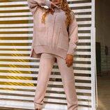 Женский вязаный костюм NICE в разных цветах ож 711