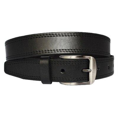 Tokio4 классический черный кожаный мужской ремень кожанный пояс брючный прошитый со строчкой