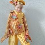 Прокат Карнавальный костюм Осінь, місяць Жовтень осеннего листа Осенний месяц Осень