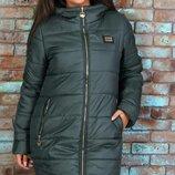 Новиночки Классное пальто зима, размеры 50- 56