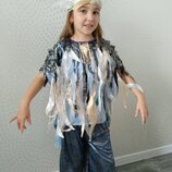 Прокат Карнавальный костюм Вітер ветер хмара, дощ, иней, морозко, туча іній,