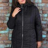 Новиночки Классное пальто зима, размеры 52- 56