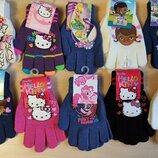 Детские перчатки Дисней Литл Пони Скай Мики Маус разные герои мультфильмов
