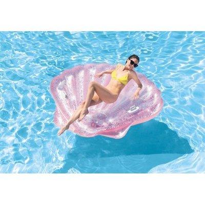 Надувной плотик Розовая ракушка Intex 57257. Al.