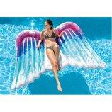 Пляжный надувной матрас Крылья ангелa INTEX 58786. Al.