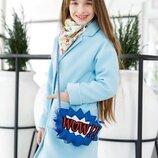 Новиночки Детское пальто осень- весна , размеры 134- 152