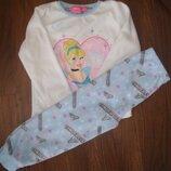 Фирменная флисовая пижама девочке 4-5 лет отличная