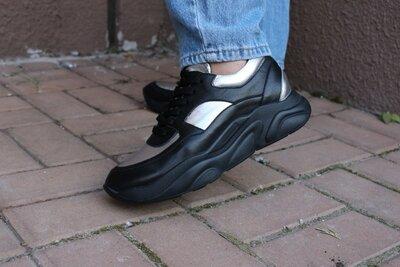 Шикарні шкіряні кросівки Respect, Оригінал