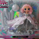 Кукла Лол lol l.o.l Омг Surprise omg Winter Disco Леди Кристалл 6 сезон