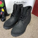 Мужские ботинки Тимберленд Timberland 6-Inch Premium Waterproof Black Boot