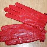 Кожаные перчатки F&F разм m/l